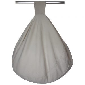Heavy Cotton Beanbag with Handle - Cream