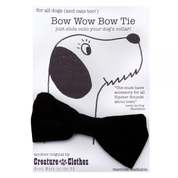 Black Bow Tie