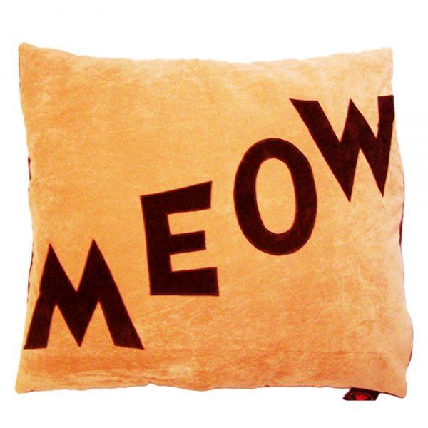 Cat Nappa - Meow - Chocolate on Tan
