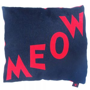 Cat Nappa - Meow - Red on Denim
