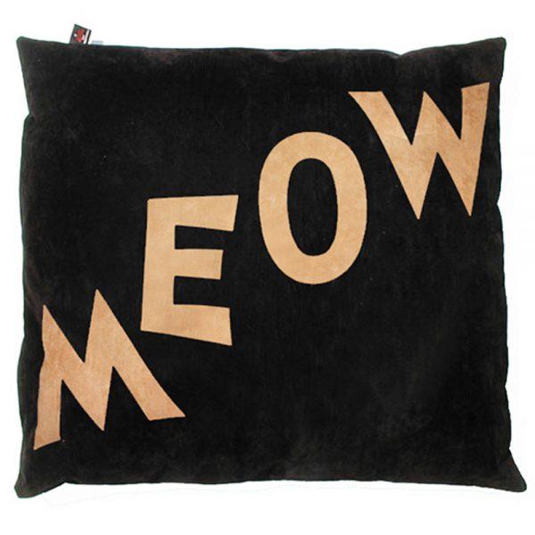 Cat Nappa - Meow - Tan on Black