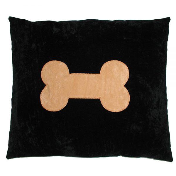 Dog Doza - Bone - Tan on Black