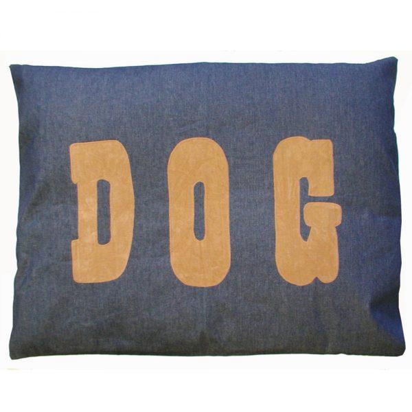 Dog Doza - Dog - Tan on Denim