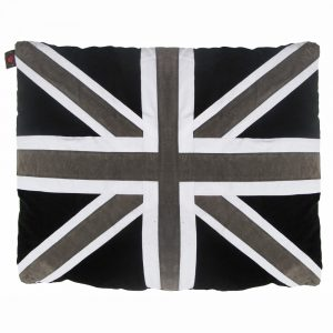 Kids Floor Cushion - Union - Black/Grey