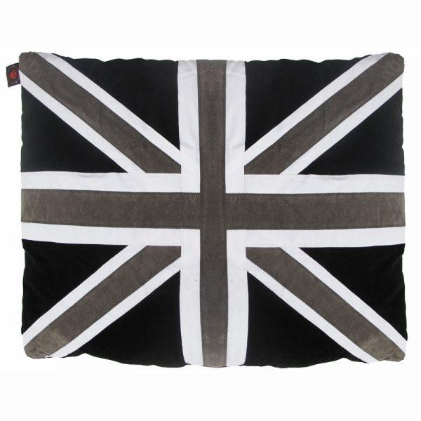 Kids Floor Cushion - Union - Black/Grey