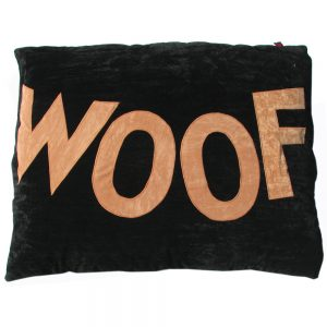 WOOF Dog Bed Cover - Big Old Ladybug WOOF Replacement Cover