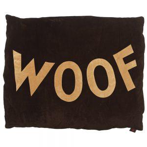 Dog Doza - Woof - Tan on Choc
