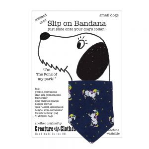 Slip-on-Bandana Unicorns