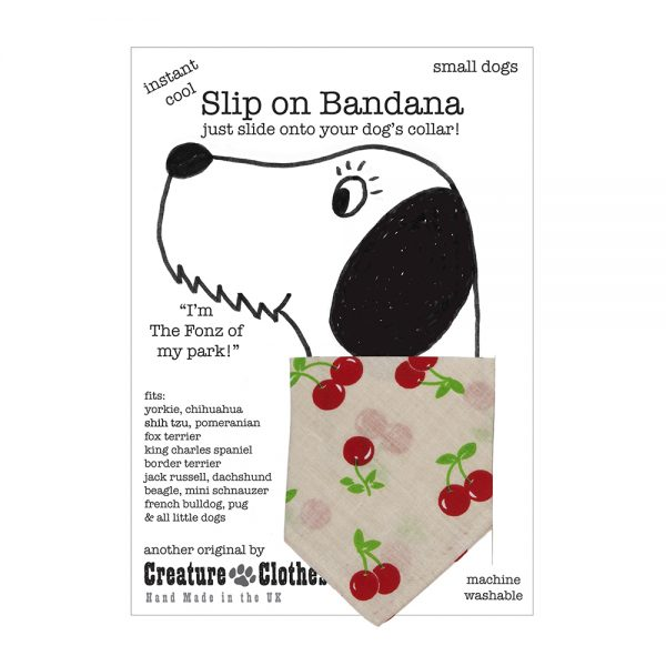 Slip-on-Bandana Cherries