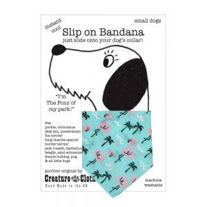 Slip-on-Bandana Flamingos