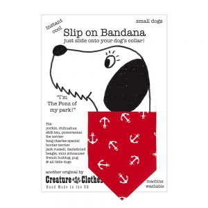 Slip on Bandana Nautical Anchors