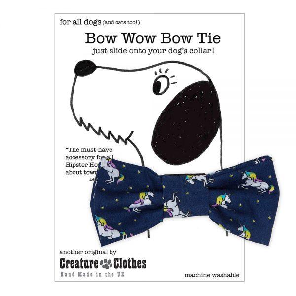 Unicorns Bow Tie