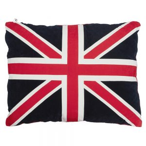 Dog Doza - Union Jack - Red Cream & Blue