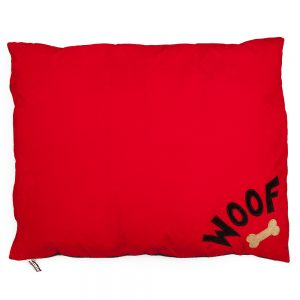 Dog Doza - WOOF N BONE - Red