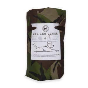 Eco Dog Bed Cover Camo