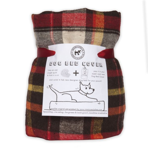Eco Dog Bed Cover Lumberjack