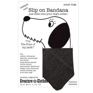 Slip on Dog bandana Jack Tweed