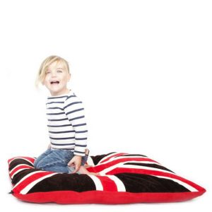 flag floor cushions