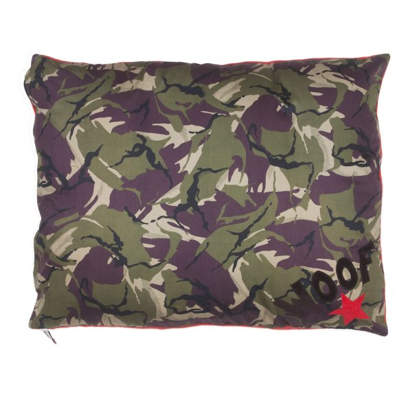 Cool Camo Little Star & Woof Dog Doza Bed Spare Cover