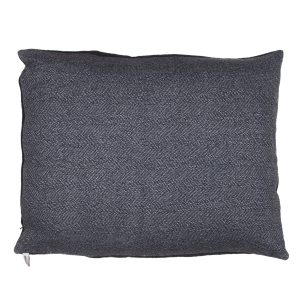 Dog Doze Bed Herringbone Wool Mix