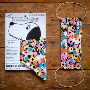 Sweeties - Face Mask & Matching Dog Bandana