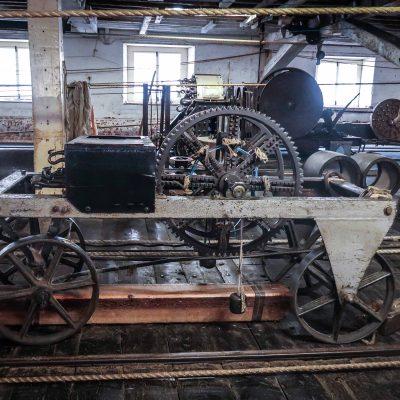 Victorian Rope Making machinery