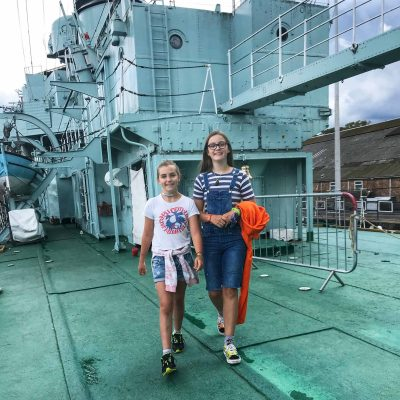 Wandering the decks and glimpsing what life was like aboard HMS Cavalier