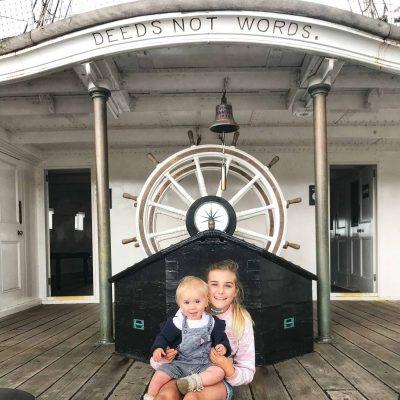 Deeds Not Words HMS Gannet