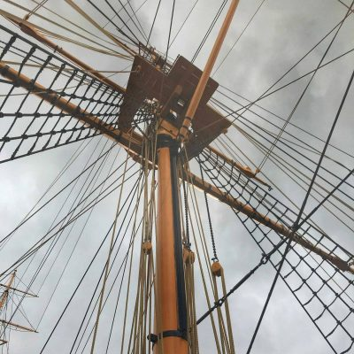 HMS Gannet at Chatham Historic Dockyard