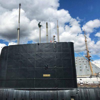 HMS Ocelot at Chatham Historic Dockyard