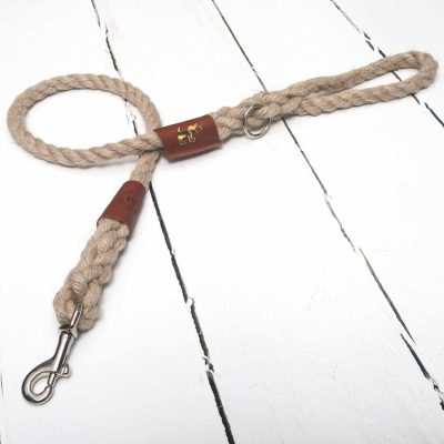 Master Ropemakers / Creature Clothes / Chatham Hemp Rope Lead